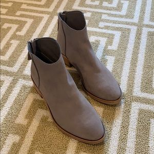 Dolce Vita gray booties size 7